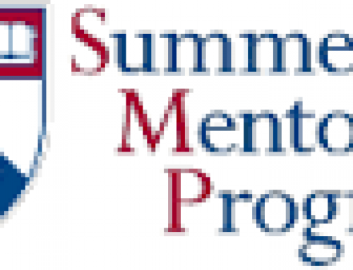 Sophomores- University of Penn Summer Mentorship Program